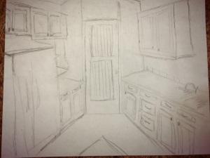corner sketch